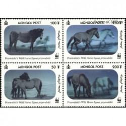 Mongolia 2000. Wild horses...