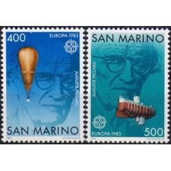 San Marinas 1983. Žmonijos...