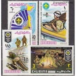 Dubai 1971. Scout Movement
