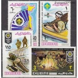 Dubajus 1971. Skautai