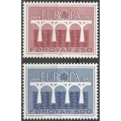 Farerų salos 1984. CEPT -...