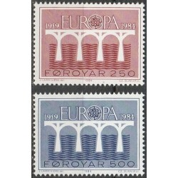 Faroe Islands 1984. 25th...