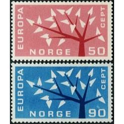 Norway 1962. CEPT: Stylised...