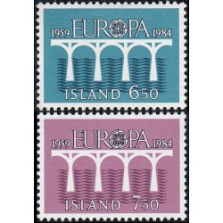 Islandija 1984. CEPT -...