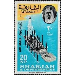 Sharjah 1964. Petroleum...