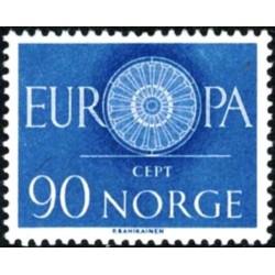 Norvegija 1960. Stilizuotas...