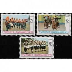 Turkey 1981. Traditional dance