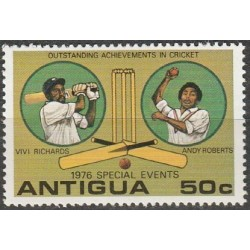 Antigua 1976. Cricket