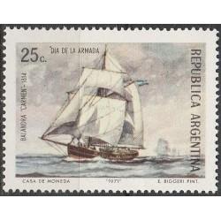 Argentina 1971. Sailing ships