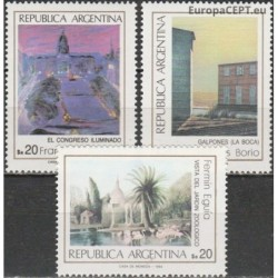 Argentina 1984. Paintings