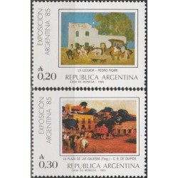 Argentina 1985. Paintings