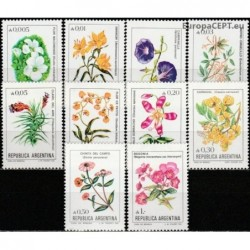 Argentina 1985. Flowers