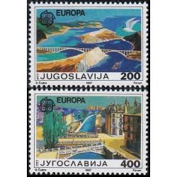 Yugoslavia 1987. Modern...