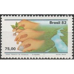 Brazil 1982. Free trade zone