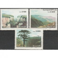 Brazil 1985. National park