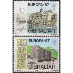 Gibraltar 1987. Modern...