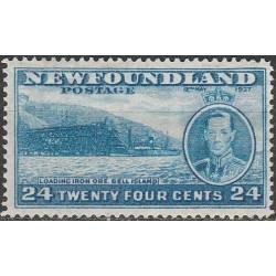 Newfoundland 1937. Port
