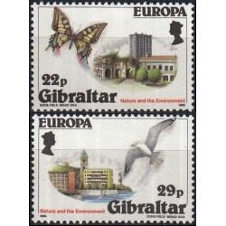 Gibraltar 1986. Nature...