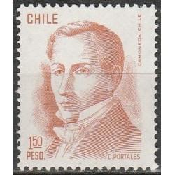 Chile 1976. Diego Portales