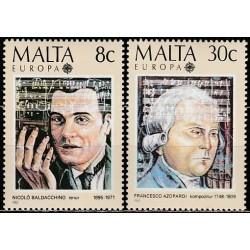 Malta 1985. Europos muzikos...