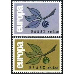 Greece 1965. CEPT: 3 Leaves...