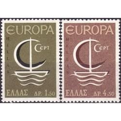 Greece 1966. CEPT: Symbolic...