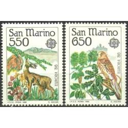 San Marino 1986. Nature...