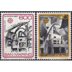 San Marino 1987. Modern...