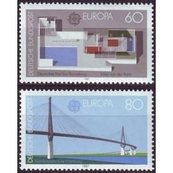West Germany 1987. Modern...