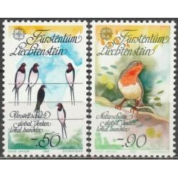 Liechtenstein 1986. Nature...
