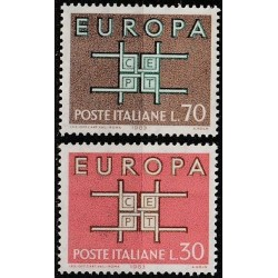 Italy 1963. CEPT: Stylised...