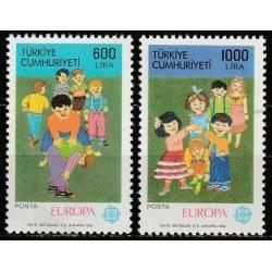 Turkey 1989. Childrens Games
