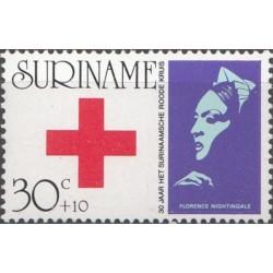 Surinam 1973. Red Cross