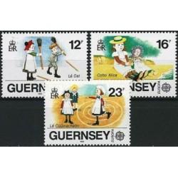Guernsey 1989. Childrens Games