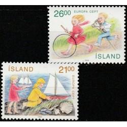 Islandija 1989. Vaikų žaidimai