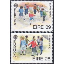 Ireland 1989. Childrens Games
