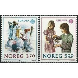 Norway 1989. Childrens Games