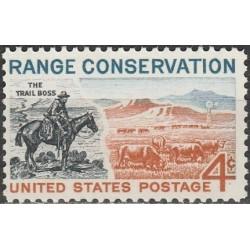 United States 1961. Range...
