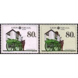 Azores 1988. Transportation...