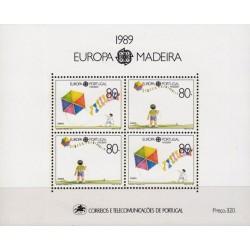 Madeira 1989. Childrens Games