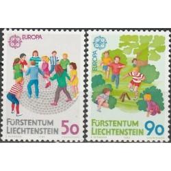 Lichtenšteinas 1989. Vaikų...