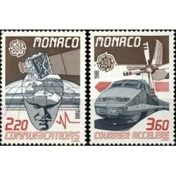Monaco 1988. Transportation...