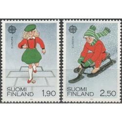 Finland 1989. Childrens Games