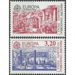 Andora (pranc) 1990. Pašto...