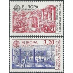 Andorra (french) 1990. Post...