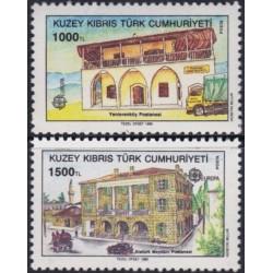 Turkų Kipras 1990. Pašto...