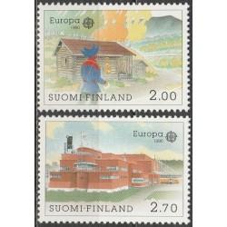 Suomija 1990. Pašto pastatai