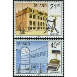 Iceland 1990. Post Offices