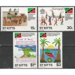 St. Kitts 1984. National...