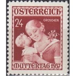 Austria 1937. Mother day